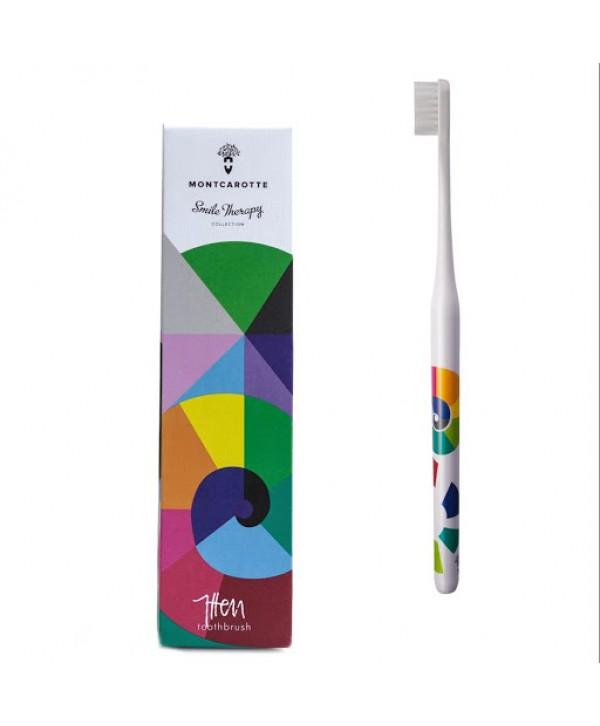 Itten toothbrush Abstraction Brush Collection  Зубная щетка «Иттен» из коллекции «Абстракционистов» 12+