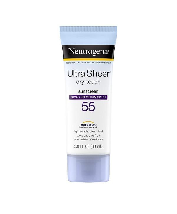 NEUTROGENA Ultra Sheer Dry-Touch Spf 55+ Солнцезащитный крем