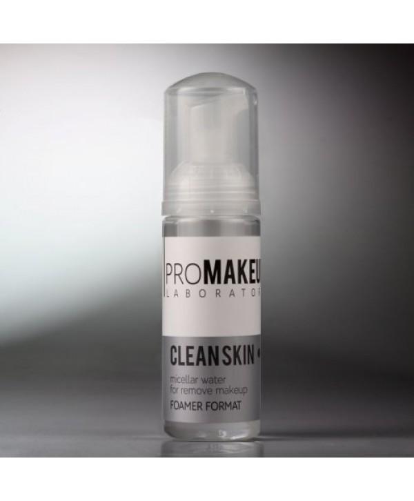 PROMAKEUP Clean Skin Мицеллярная вода 50 мл с пенообразователем