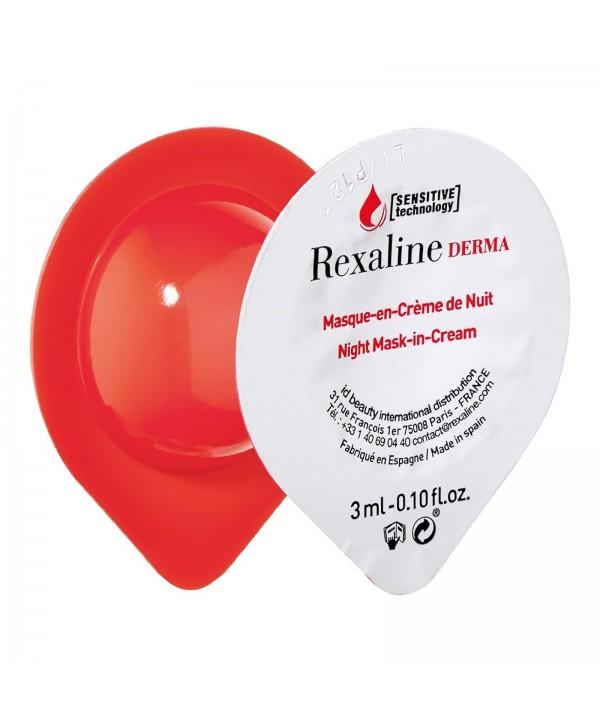 REXALINE DERMA Night Mask-in-Cream