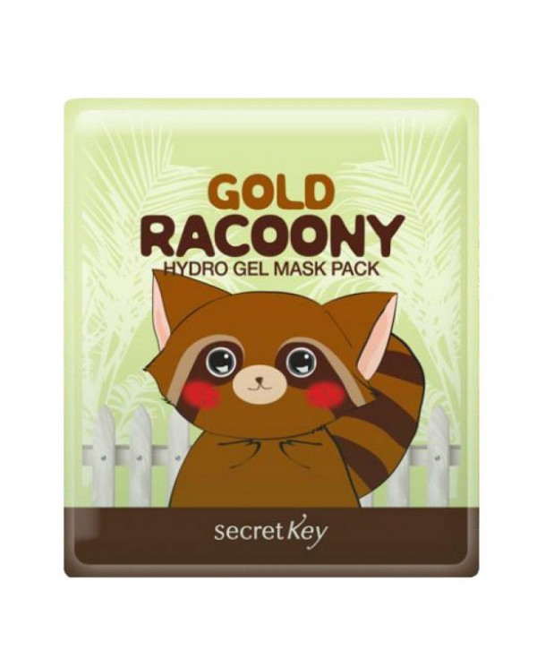 SECRET KEY Gold Raccony Hydro Gel Mask Pack Гидро-гелевая маска для лица