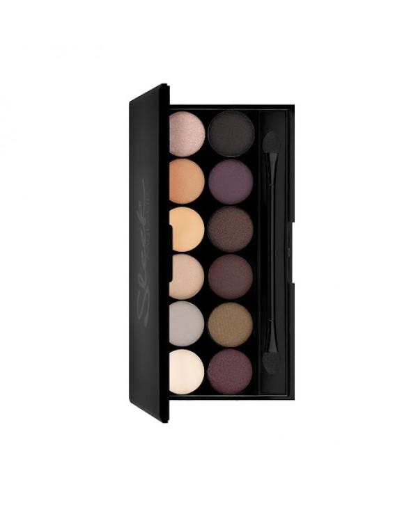 SLEEK MAKEUP I-Divine Au Naturel #601 Mineral Based Eyeshadow Palette Палетка теней
