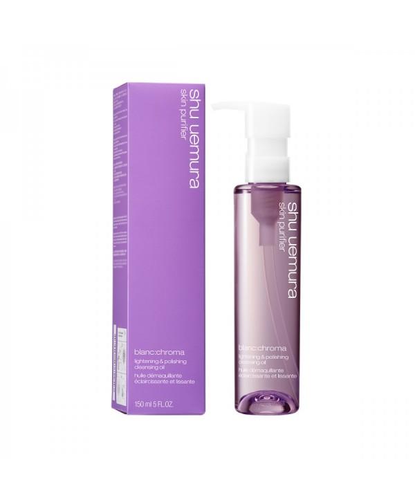 SHU UEMURA Blanc:chroma Bright Polish Cleansing Oil Гидрофильное масло с отбеливающим эффектом 150 м