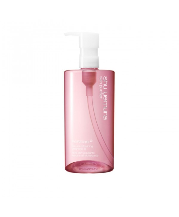 SHU UEMURA POREfinist Anti-Shine Fresh Cleansing Oil Гидрофильное масло для очистки пор 450 мл