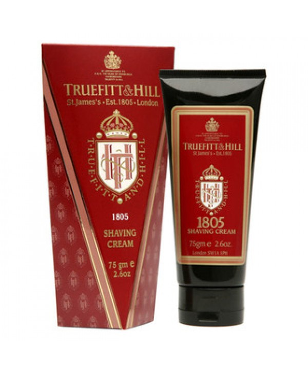 Truefitt&Hill  00054  1805 Shaving Cream  75 г  1805 Крем для бритья (в тюбике)