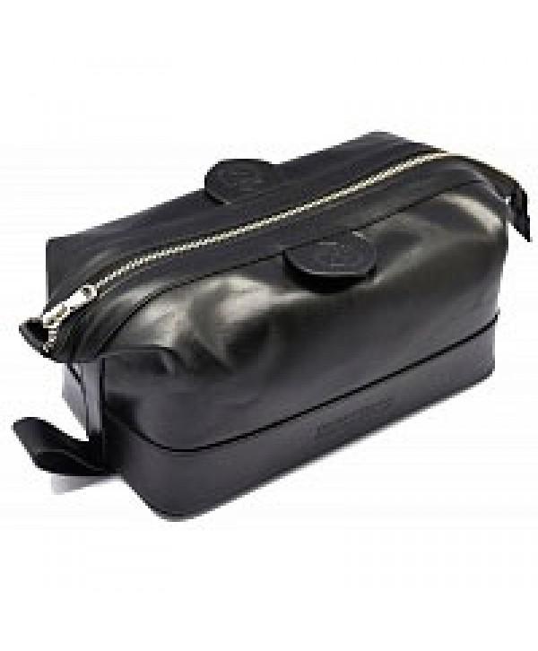 Truefitt&Hill  00567  Gentleman`s Wash Bag - Black  Косметичка на молнии / Чёрная