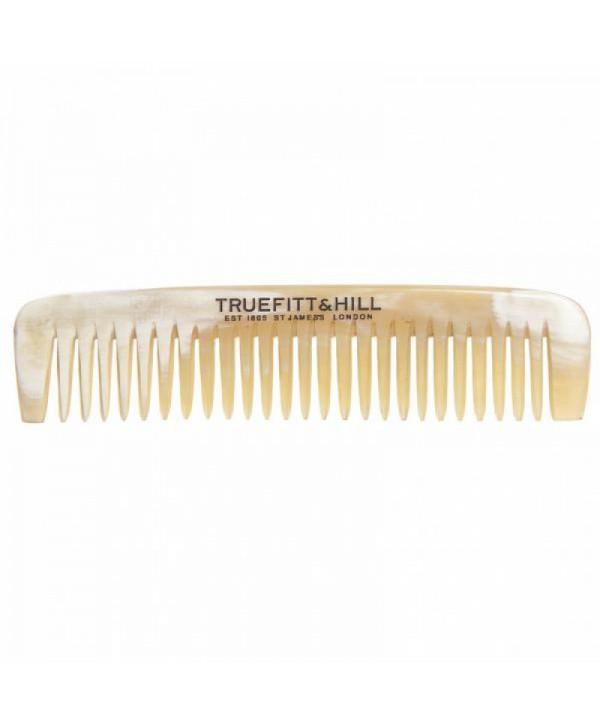 Truefitt&Hill  00617  Small Mastache Horn Comb / HSC  Мужская расческа для усов и бороды / Рог / 9 см
