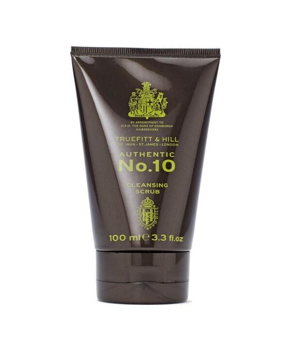 Truefitt&Hill  01005  Authentic No. 10 Cleansing Scrub  100 мл  Authentic No. 10 Скраб для очищения кожи лица