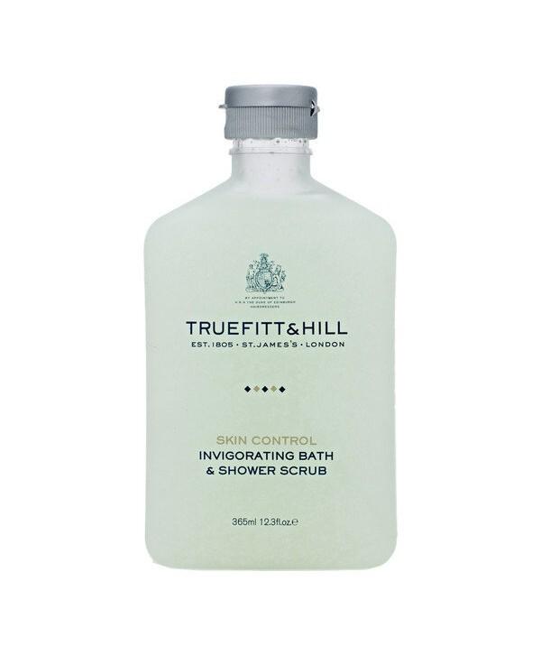 Truefitt&Hill  10014  Invigorating Bath & Shower Scrub  365 мл  Тонизирующий скраб для тела (во флаконе)