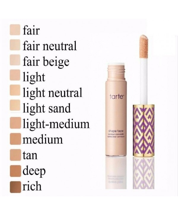 TARTE Shape Tape Contour Concealer Light neutral Консиллер