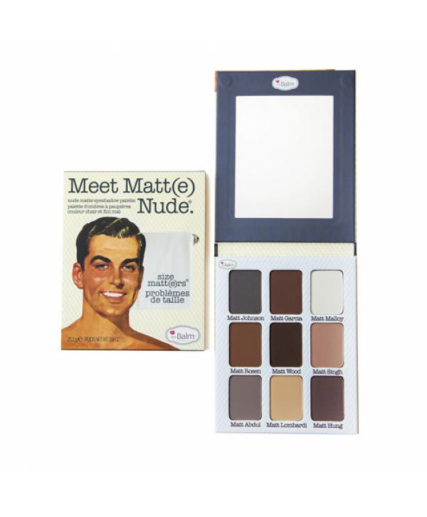 Палетка теней Meet Matt(e) Nude®