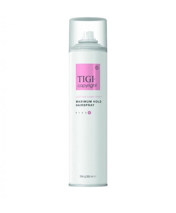 Tigi Copyright Care Лак суперсильный фиксации волос 385 мл
