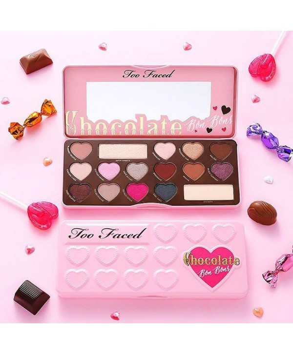 TOO FACED Chocolate Bon Bons Eyeshadow Collection Палетка теней для глаз