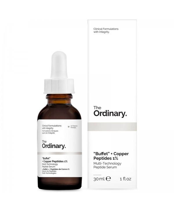 The Ordinary Buffet + Copper Peptides 1% Anti-Aging Serum