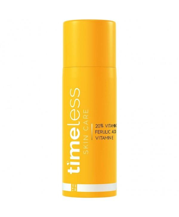 Timeless Skin Care Vitamin C + E 20% Serum