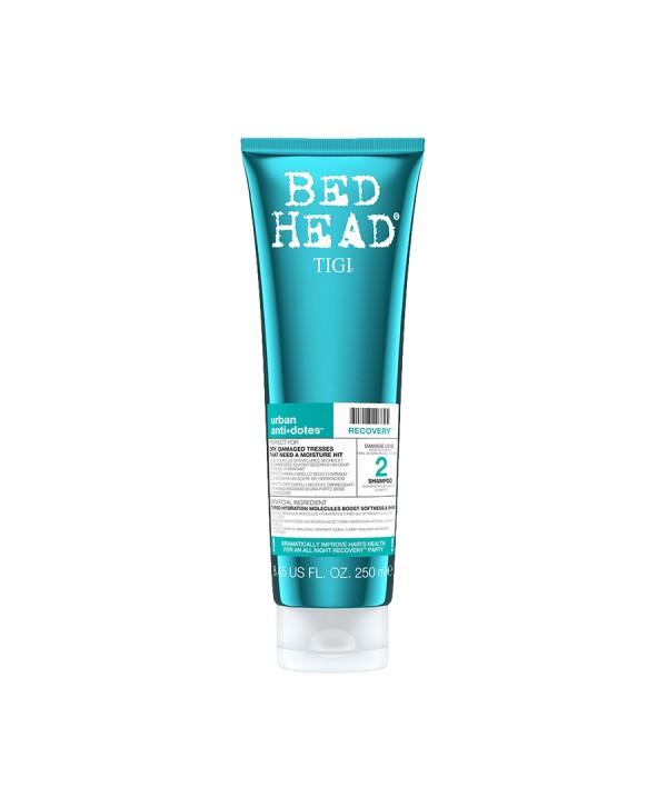 TIGI Bed Head Шампунь для поврежденных волос уровень 2, 250 мл Bed Head Urban Anti+dotes Recovery