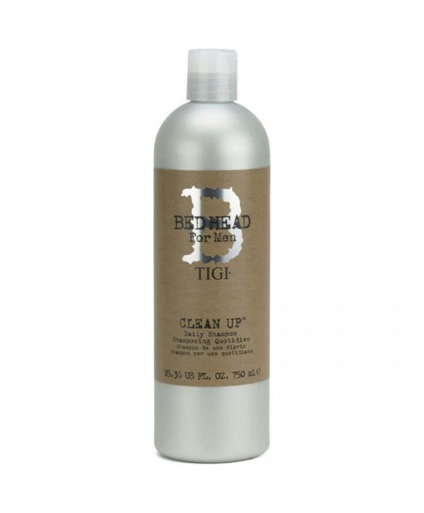 TIGI Bed Head for Men Шампунь для объема мужской 750 мл Clean Up Daily Shampoo