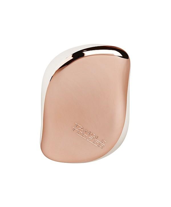 TANGLE TEEZER Compact Rose Gold Luxe Расческа для волос