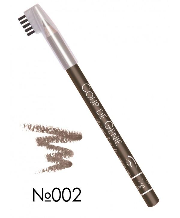 VIVIENNE SABO Eyebrow Pencil Coup de Genie 002 Карандаш для бровей, серо-коричневый