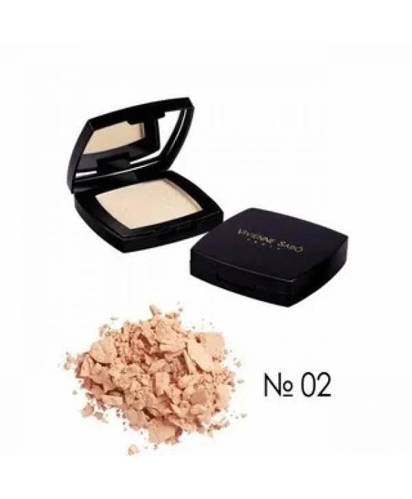 VIVIENNE SABO Moisturising Compact Powder Hydratante Joli Moyen Увлажняющая пудра тон 02