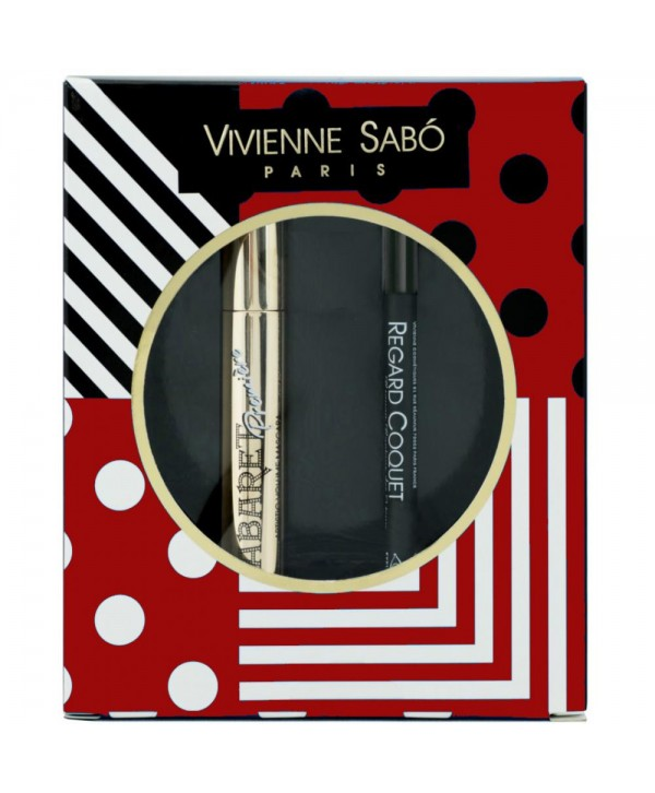 VIVIENNE SABO Набор тушь Cabaret Premiere 01 + Regard Coquet карандаш для глаз