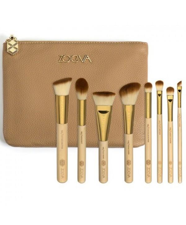 Zoeva Bamboo Luxury Set 8 Piece For Eyes & Face