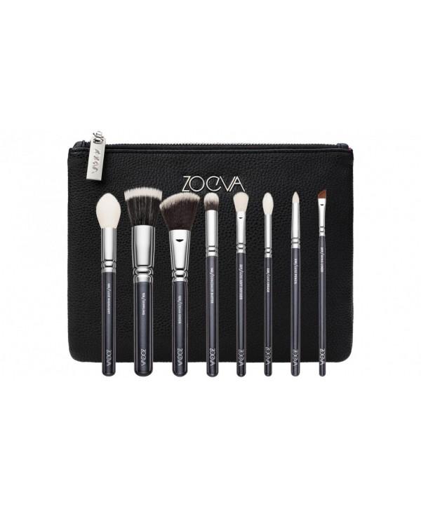 Zoeva Classic Brush Set 8 черный
